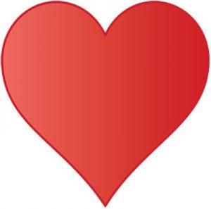 emoticon cuore che batte