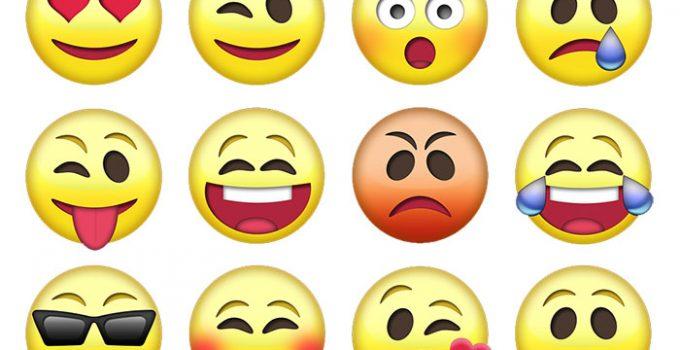 emoticon whatsapp android cosa significano