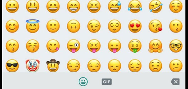 emoticons whatsapp android significato
